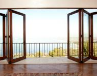 18-Foot 3R3L Bifold Door System-Doors Open